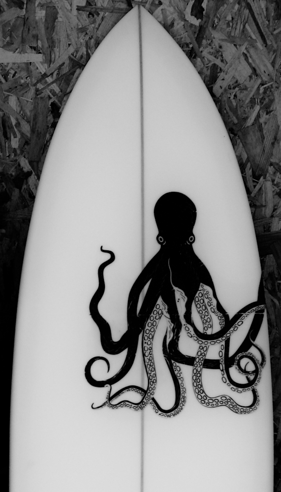 Pinguino Surfboards prints